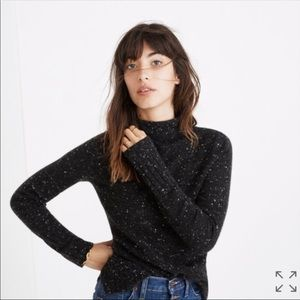 Madewell Donegal Inland Turtleneck Sweater XS